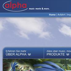 alpha - music movie & more